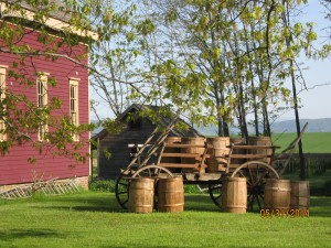 Barrels at Louisbourg, photo by Shelley Porter